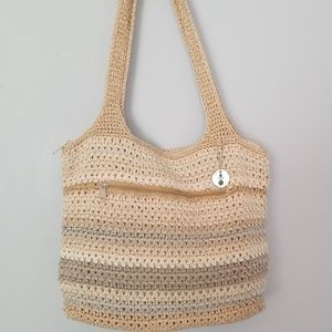 The Sak crocheted purse